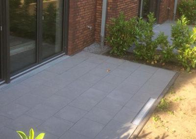 Terrasse Stein Bodenplatten