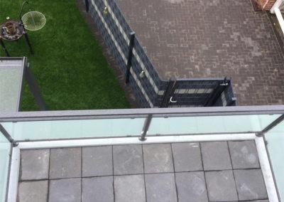 Garten Balkon Terrasse Pflastersteine