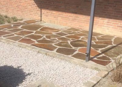 Pflasterarbeiten Umgestaltung Vorgarten